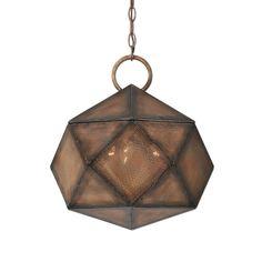 Оригинальная металлическая люстра в медной отделке. Рассчитана на 60W.             Материал: Металл.              Бренд: Uttermost.              Стили: Лофт.              Цвета: Коричневый, Темно-коричневый, Черный.