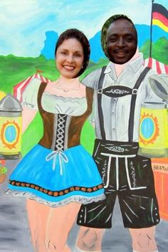 oktoberfest cutouts - Google Search