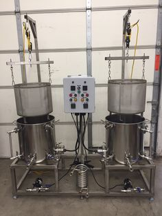 All new turn-key pro-level brewing system now available! Brew 2 different beers simultaneously.