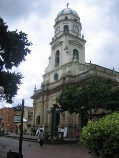 Iglesia de Santa Lucia, en Chía, Cundinamarca
