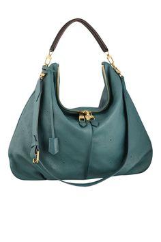 Louis Vuitton Selene GM Teal Bag - Womens Designer Bags 2013