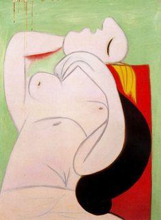 Sleep (Le sommeil) - Pablo Picasso #design #art