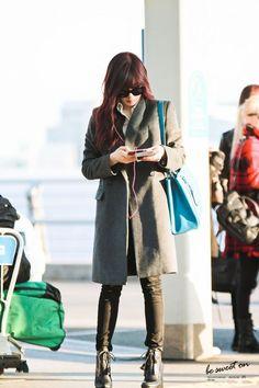 Snsd Tiffany Incheon Airport to Niigata