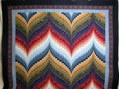 Jello in a Bar? Nope, Bargello is Quilting Art! 3 Video's share this Amazing Quilting Fabric art form. - Keeping u n Stitches Quilting | Keeping u n Stitches Quilting