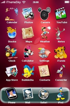 Wonderful Disney - iphone Themes Free Download   ....I simply MUST do this!    Www.facebook.com/tiaratravels