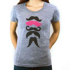 Stache Tee Women's!!!! Aw sweet! I soooooo want one!!