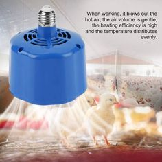 Great Quality and Safe Guarantee: The body of lamp uses the high quality material, fireproof and heat-resistant. When it works, the shell is warm but does not burn. High Performance: When working, it blows out the hot air, the air volume is gentle, the heating efficiency is high and the temperature distributes evenly. Three-shift switch can be adjusted freely according to the temperature of the room. Soft Light: It equipped LED lighting, soft light, which does not affect the sleep of animals. Chicken Plucker, Chicken Coops, Chicken Saddle, Poultry Supplies, Pet Chickens, Tool Kit, Fans, Bulb, Ebay