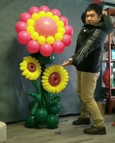 Incredible Party Balloon DIY - Decoration For Home Balloon Crafts, Balloon Decorations Party, Birthday Party Decorations, Birthday Parties, Crafts With Balloons, Parties Decorations, Free Birthday, Ballon Party, Deco Ballon
