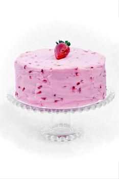 Our best seller...Strawberry cake! www.ashleymacs.com $39.99 for a large (size pictured)
