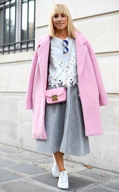 Osiris Martinez from Street Style: Paris Fashion Week Spring 2015