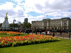 May 2013: Buckingham Palace in London.