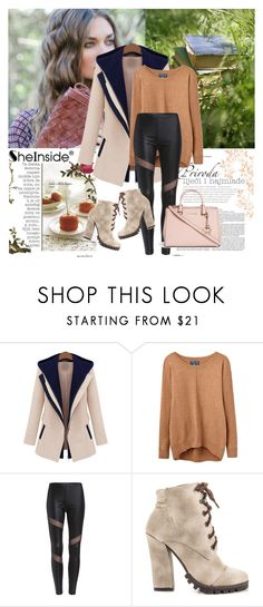 """""""Shein 9"""" by aida-1999 ❤ liked on Polyvore featuring Joules, Michael Antonio, Michael Kors, women's clothing, women, female, woman, misses and juniors"""
