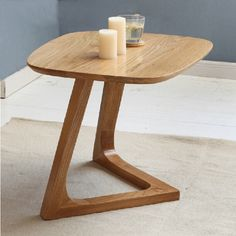 490.00$  Buy here - http://alilfy.worldwells.pw/go.php?t=32454411740 - Solid Wood Oak End Table 490.00$