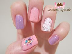 Sweet manicure from Cosmetic Cupcake