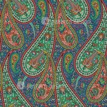 Filigree Indian Paisley Pattern    Designer: Dalbir Kaur, India    Available as a Download-File on www.patterndesigns.com