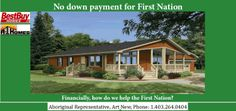 Art New, Aboriginal Representative for A-1 Homes Ltd/Best Buy Housing Inc. / PHONE 403.264-0404