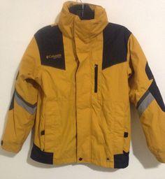 Columbia vertex youth yellow ski jacket size 10/12 #Columbia #SkiJacket #Everyday