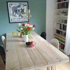 Fresh DIY Projekt Ein Tisch aus Baudielen