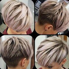 New Pixie Haircuts for Women 2019 - Short Hair Cuts For Women - Pixie Hairstyles, Latest Short Hairstyles, Short Pixie Haircuts, Undercut Hairstyles, Straight Hairstyles, Everyday Hairstyles, Short Hair Trends, Short Hair Cuts For Women, Hair Pictures