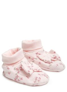 Baby Girls Ditsy Floral Print Booties