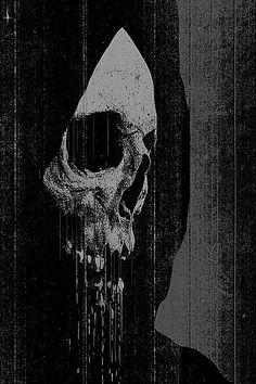 thescariestdarkness:The Craziest Horror Video! All caught on Film Fantasy Kunst, Dark Fantasy Art, Dark Gothic Art, Arte Horror, Horror Art, Corvo Tattoo, Skeleton Art, Skeleton Watches, Satanic Art