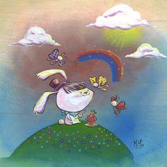 martin_hsu_bunnies_bunny_butterflies_bows_picnic_art_paintings_japanla