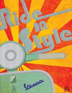 RETRO SCOOTER GARAGE: Ride in Style
