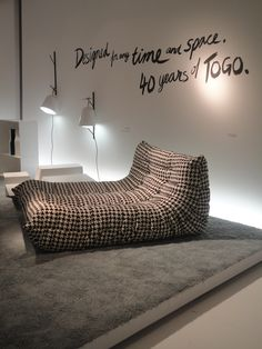 Ligne Roset Togo limited edition to be released this year. I must have one!
