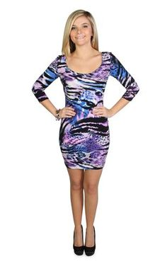 Pair this with a cute jacket for dinner. and then wear this at the club. very cute