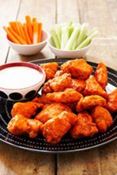 Mama Bee's Boneless Buffalo Chicken Nuggets - One Fabulous Mama