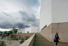 Architectural photographer Duccio Malagamba has sent us a selection of his photographs documenting the work of Portuguese architect Álvaro Siza, who was awarded the RIBA Royal Gold Medal in February. Above: Sport Facilities 'Ribera-Serrallo' Malagamba describes his experience of photographing Siza's architecture over the past 18 years in this text written for Dezeen: I fell