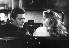 Anita eckberg and Marcello mastroani in La Dolce Vita