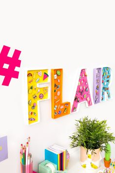 10 Minute DIY: Letter Corkboards For Your Flair