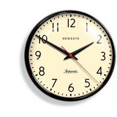 Bloomsbury Store: Newgate black wall clock