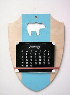 Bear calendar