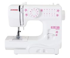 Janome Sew Mini DL, a fully functional sewing machine for kids.