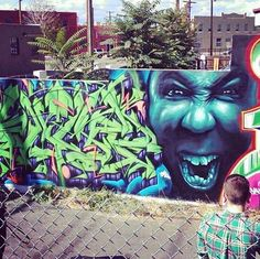 Tech N9ne mural Denver CO