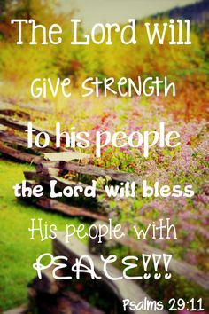 Psalms 29:11