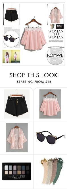 """""""Bez naslova #80"""" by ermina-camdzic ❤ liked on Polyvore featuring Maybelline, Gucci and romwe"""