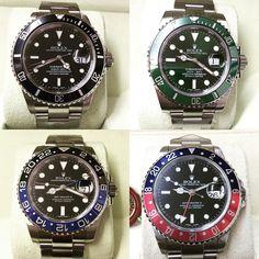 Rolex #submariner #gmtmaster2 #hulk #batman #pepsi #black by emporiowatchesanddiamonds #rolex #submariner