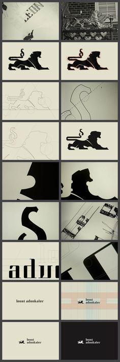 Leoni Advokater/// Danish law company. #branding #identity #logo #graphic #design #print #brand