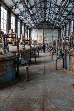 Fábrica de munições | Indiana_EUA | Construído na década 30 e abandonada após a Guerra do Vietnã