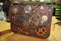 Steampunk leather bag Handmade steampunk leather satchel bag bag leather bag steampunk men bag satchel bag handbags handmade handbag unique 526.00 USD #goriani