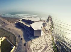 rojkind arquitectos' foro boca concert hall to rise as concrete volumes in mexico