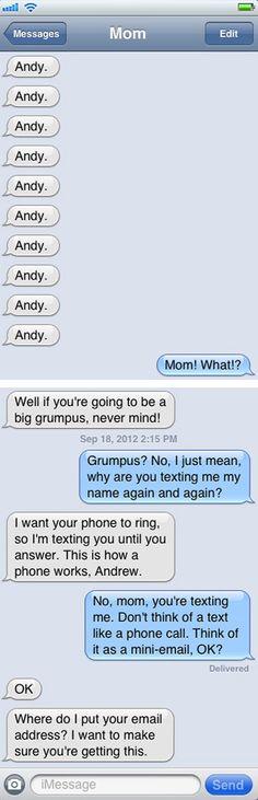 """jajaja XD 23 Mom Texts That Make You Go """"MAAAHM!"""""""