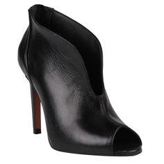 Ankle Boot Preto de Couro - Shoestock