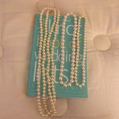 Different size faux pearls necklaces bundle Super cute pearl necklaces for any occasion. The one on the left side is a standard long necklace. Thanks for looking! Jewelry