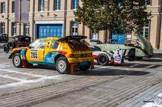 Peugeot 205 Grand Raid aux 48h Automobiles de Troyes #MoteuràSouvenirs Reportage : http://newsdanciennes.com/2016/09/12/les-48h-automobiles-de-troyes-2016-cetaient-quatre-jours-de-bonheur/