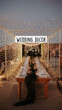 Romantic Wedding Decor, Wedding Set Up, Small Intimate Wedding, Outdoor Wedding Decorations, Glamorous Wedding, Wedding Table, Wedding Ideas, Traditional Wedding Decor, 50th Wedding Anniversary