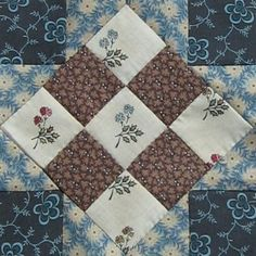Union Square Quilt Block Barbara Brackman Civil War Quilt